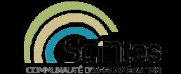 Logo-agglomeration-saintes-partenaire-professionnel-carrelage-saintais-cs17-pose-ventre-entreprise-magasin-saintes